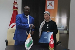 SIGNATURE DE CONVENTION AVEC CDC TUNISIE