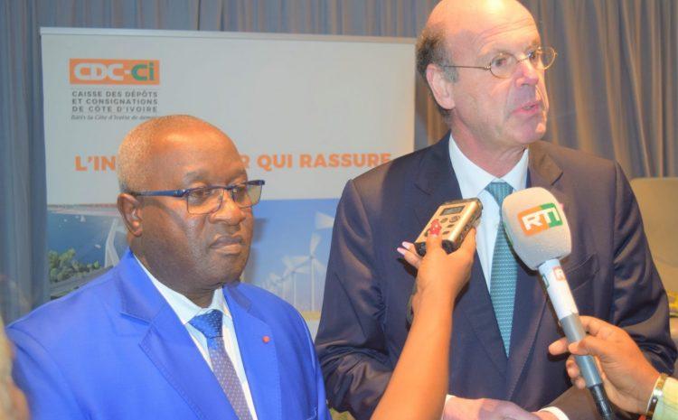 Visite de travail du Directeur Général du Groupe Caisse des Dépôts de France en Côte d'Ivoire du 03 au 05 Mars 2020.